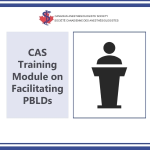 CAS Training Module on Facilitating PBLDs